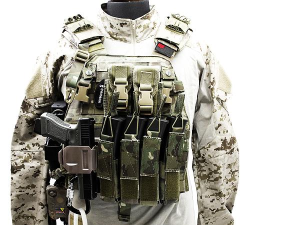MP7の装備 6094タイププレートキャリアで