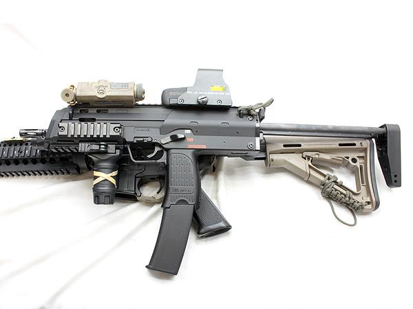 MP7A1用 wilcoxタイプ レイルハンドガード6