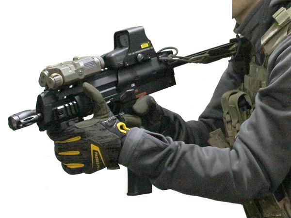 MP7A1用 wilcoxタイプ レイルハンドガード8