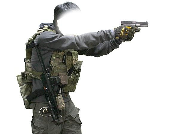 MP7A1用 wilcoxタイプ レイルハンドガード9