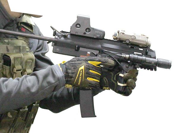 MP7A1用 wilcoxタイプ レイルハンドガード5