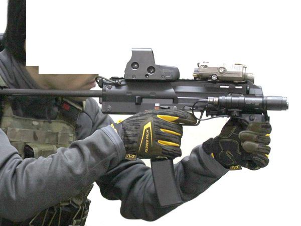 MP7A1用 wilcoxタイプ レイルハンドガード3