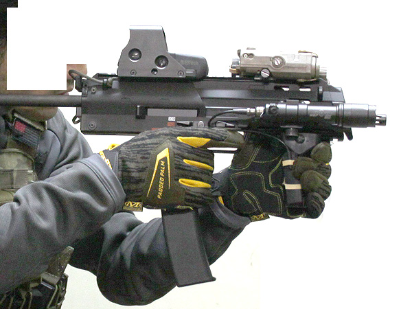 MP7A1用 wilcoxタイプ レイルハンドガード4