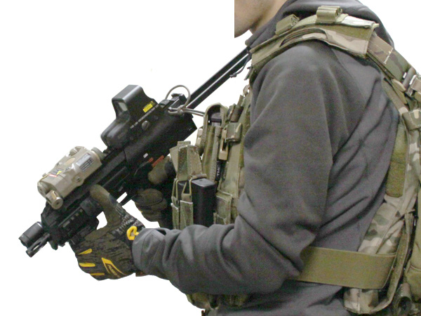 MP7A1用 wilcoxタイプ レイルハンドガード7