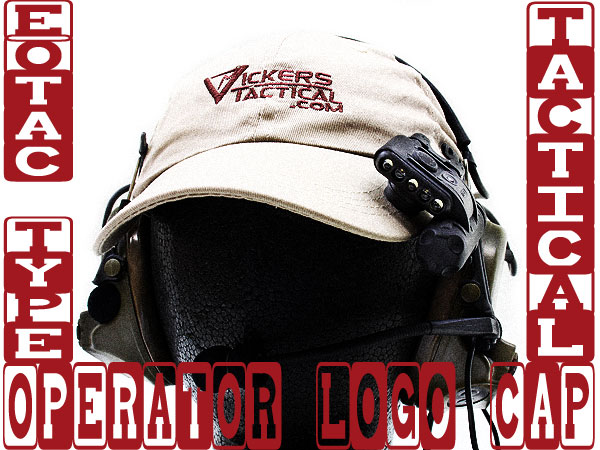 EOTACタイプ OPERATOR CAP (Vickers Tactical Logo