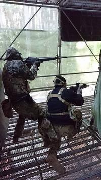 撃ち合いでのトレーニング