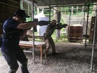 射撃訓練(๑˃̵ᴗ˂̵)