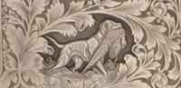 動物、爬虫類、鳥の彫刻の一部です