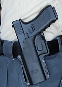 FOBUS Paddle holster for GLOCK