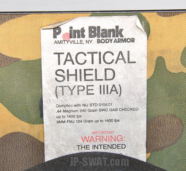 Point Blank Tactical Shield