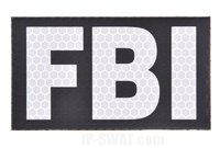 BritKitUSA FBI SOLAS IR Reflective Patch