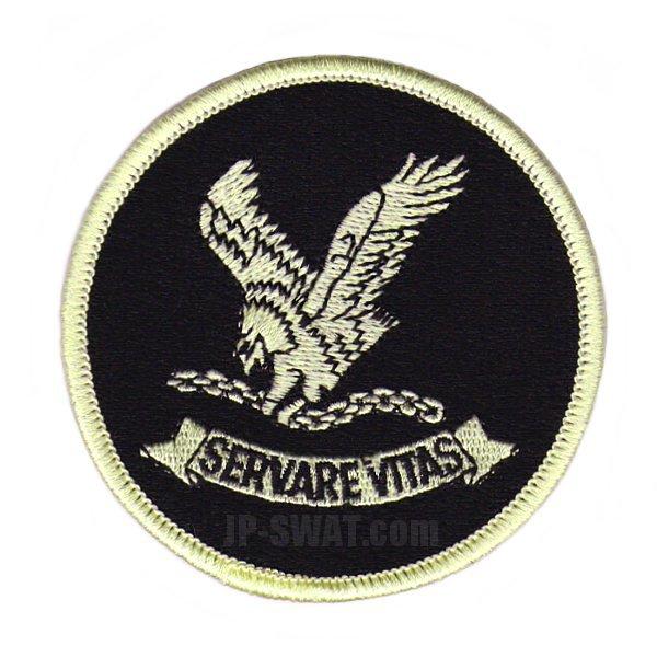 FBI(連邦捜査局) HRT(人質救出部隊) 実物 エンブレム パッチ