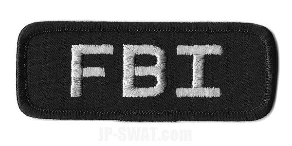 FBI(連邦捜査局) HRT(人質救出部隊) ユニフォーム用 IDタグ・パッチ