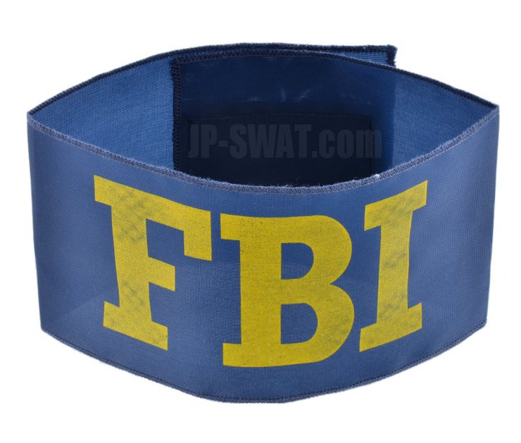 FBI(連邦捜査局) 捜査官用腕章(アーム・バンド)