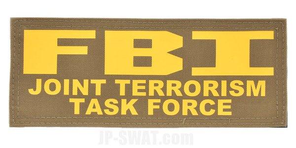 FBI(連邦捜査局) JTTF(統合テロリズム・タスク・フォース) ベスト用IDパッチ・パネル