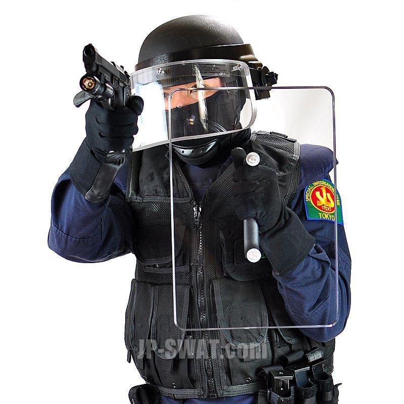 透明型防弾シールド