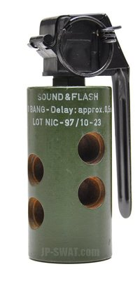 Rheinmetall 9 Bang Sound and Flash Hand Grenade