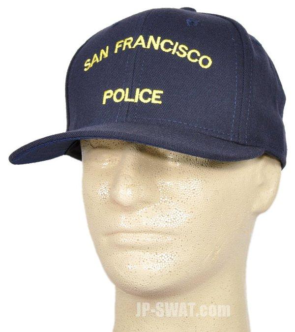 SFPD (サンフランシスコ市警察) オフィシャル キャップ