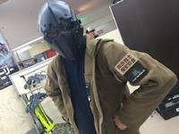 DevtacマスクとC.Q.B HORNET