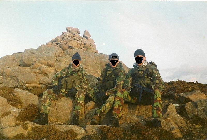 ミリフォト UKSF SAS