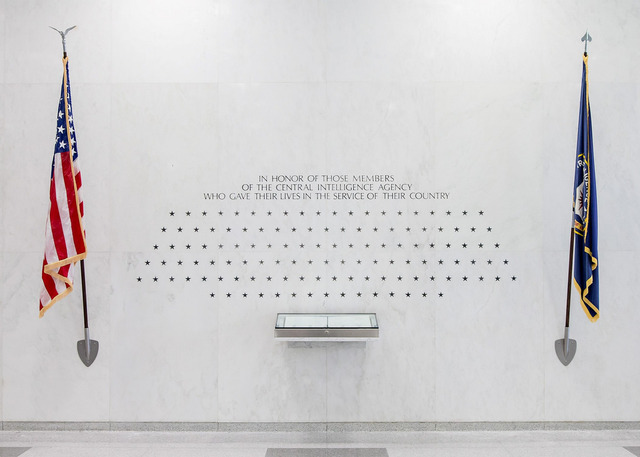 CIA Memorial Wall - Stars of Honor