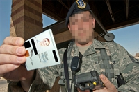米軍、英軍の軍籍身分証明書について
