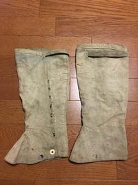 日本海軍 下士官兵 白色/褐青色脚絆