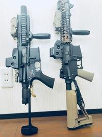 HK416cとCQB-R