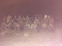 硫黄島フィールド夜戦