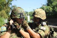 平成29年 台南方面隊 10キロ 徒步行軍