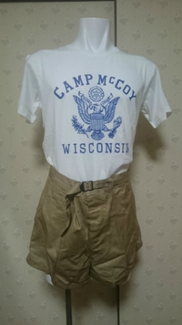キャンプマッコイ訓練用Tシャツ販売のお知らせ