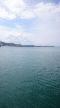 寺泊港にミサイル艦「ハヤブサ」「うみたか」