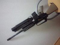 M16A1メタルフレームを