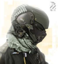 More Stunning Sci-Fi Military Cyborg Art
