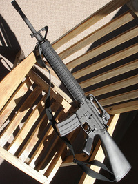 WE M16A3の着弾がとんでもなく右に寄る原因