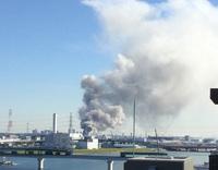 近所の大火災