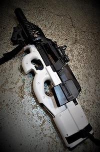P90 ホワイトピーちゃん