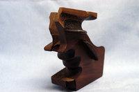カスタム木製グリップです。