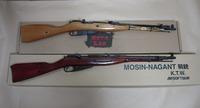 モシン・ナガン騎兵銃 KTW&ZETA LAB 外観比較