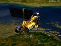 人工衛星、落下開始!