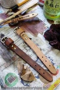 【02】モシン・ナガンのスリングをウェザリング