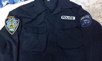 NYPD パッチの刺繍