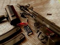SRC製MP5自作ボルトストップ⑥