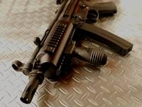 SRC製MP5色々加工