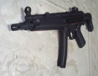 SRC製MP5自作ボルトストップ
