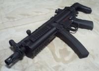 SRC製MP5自作ボルトストップ③