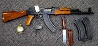実銃、戦利品