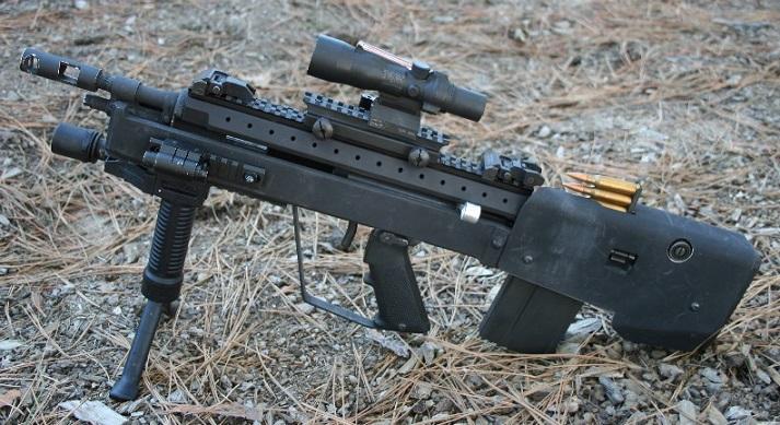 実銃射撃 CQB Training in Arizona:実銃、M14ブルバックCQB M14 Bullpup