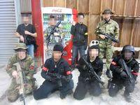 8月15日 焼津スペシャルフォース SWATさん貸切ゲーム