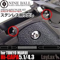 【再入荷】ハイキャパシリーズ用 スプリング プランジャーセット